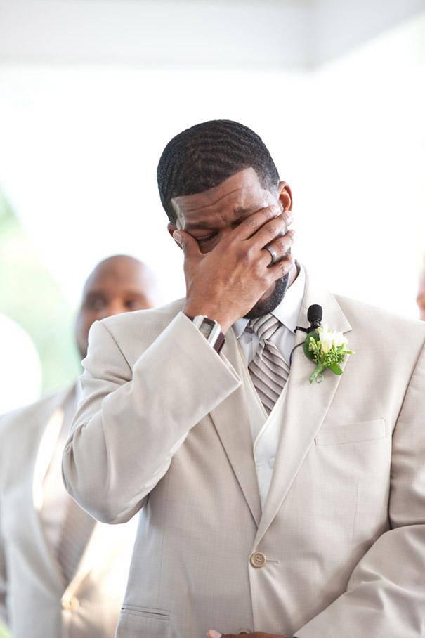 Anche gli sposi piangono ai matrimoni (FOTO)
